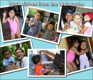 2008 Best Wishes from the Weinraubs
